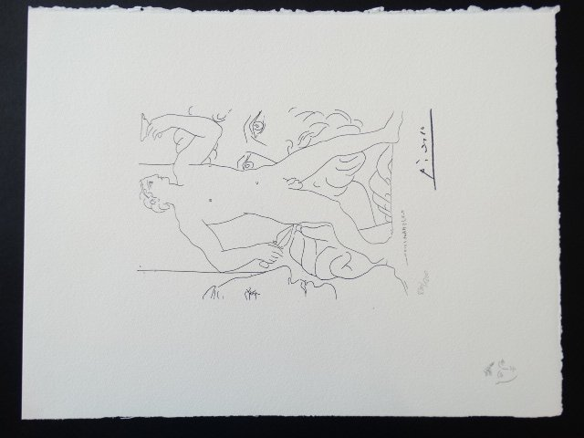 PABLO PICASSO, SPADEM, SIGNED AND HAND NUMBERED - 2
