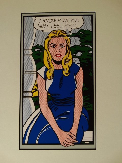 ROY LICHTENSTEIN 1987 -ART BASEL - 2