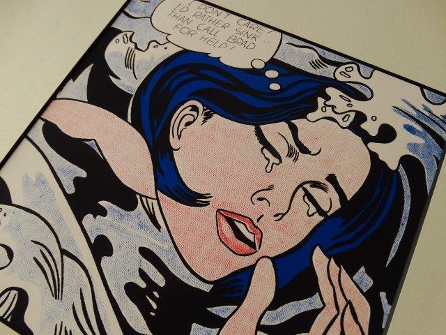 ROY LICHTENSTEIN 1987 -ART BASEL