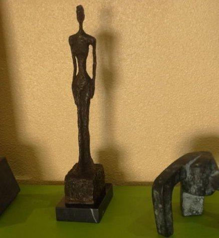 Alberto Giacometti, signed bronze sculpture