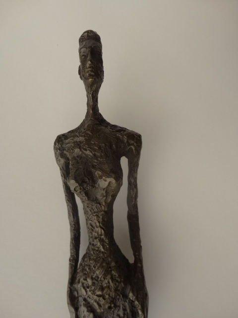Alberto Giacometti, signed bronze sculpture - 4