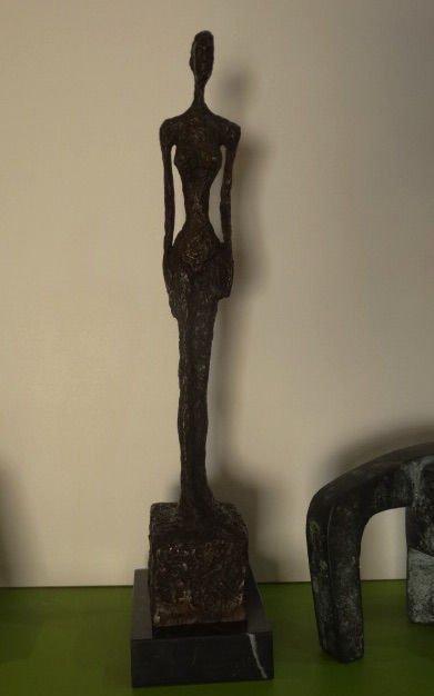 Alberto Giacometti, signed bronze sculpture - 6