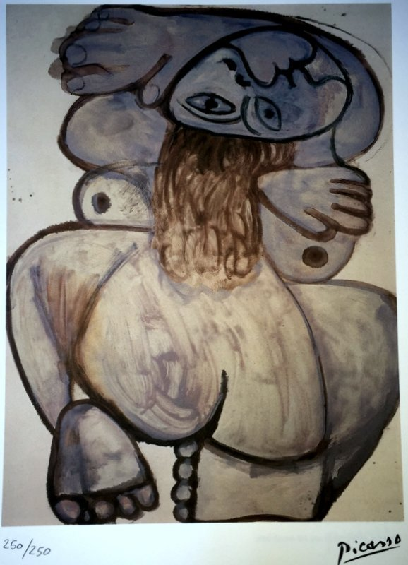 Pablo Picasso, lithograph