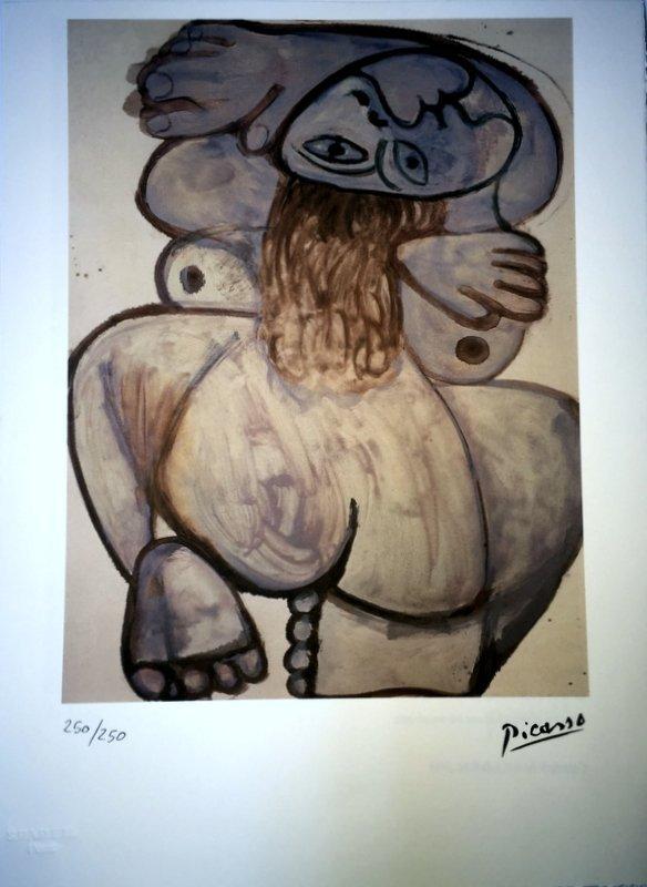 Pablo Picasso, lithograph - 3
