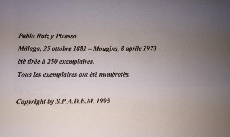 Pablo Picasso, lithograph - 4