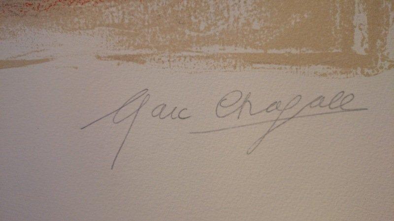 Marc chagall.Le Repós. 1968. - 2