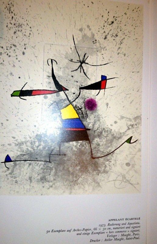 Joan Miró, etching and aquatint. - 5