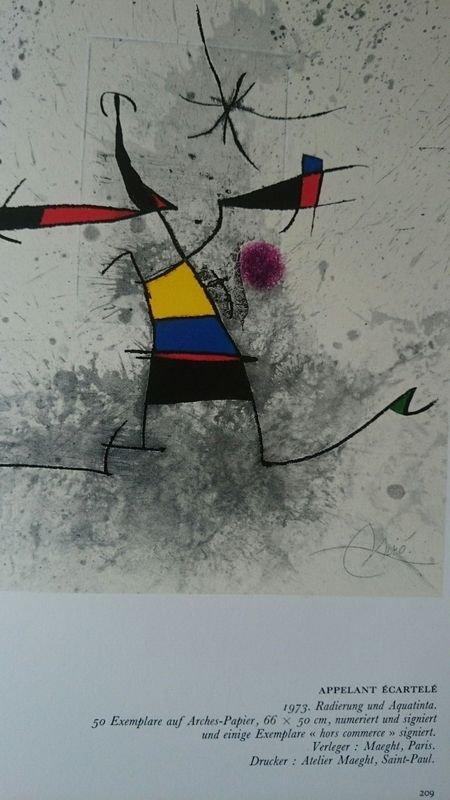 Joan Miró, etching and aquatint. - 6