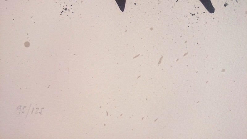 Joan Miró, lithograph, 1971 - 3