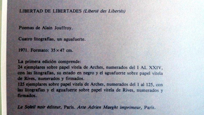 Joan Miró, lithograph, 1971 - 5