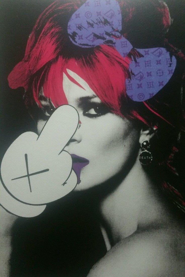 Death NYC  print COA embossed Artist proof Signed