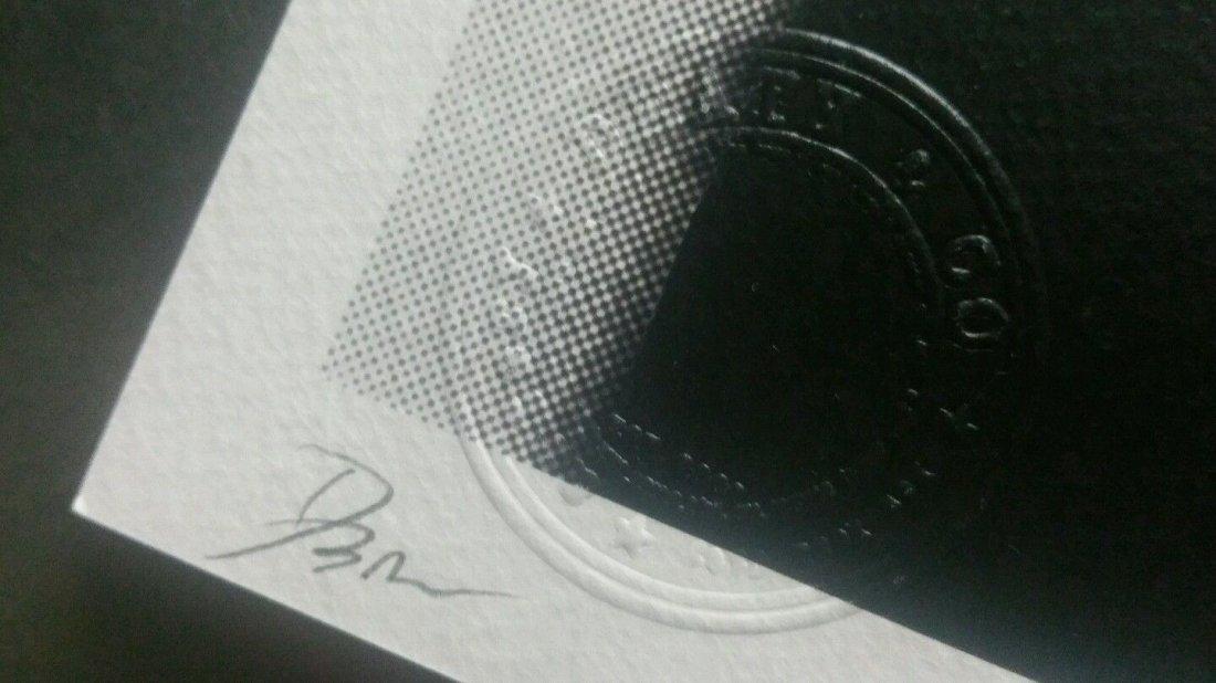 Death NYC  print COA embossed Artist proof Signed - 2