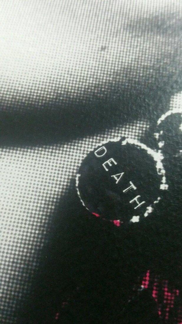 Death NYC  print COA embossed Artist proof Signed - 6