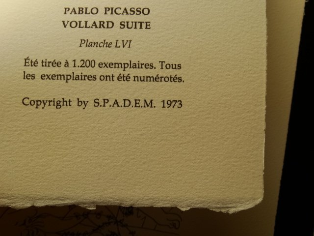 PABLO PICASSO, SPADEM, SIGNED AND HAND NUMBERED - 4