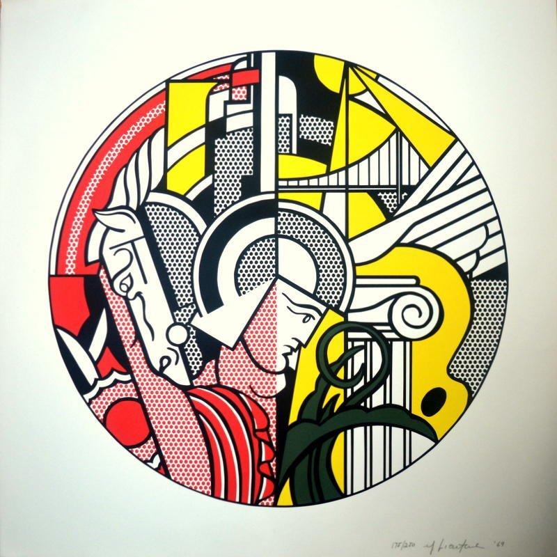 Roy LICHTENSTEIN- The Solomon