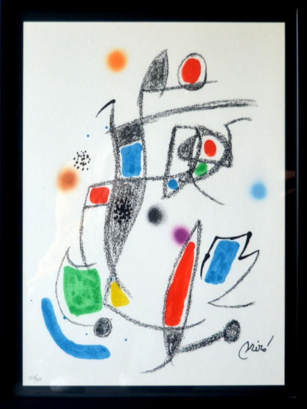 Joan Miro-Marvels with acrostic variations