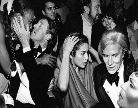 Andy Warhol & Friends At Studio 54. - 11 X 14 Print