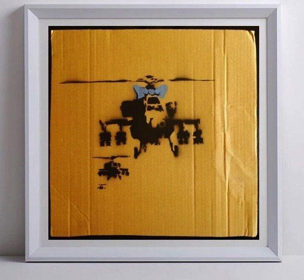 "BANKSY ""WRONG WAR PLACARD"", 2003"