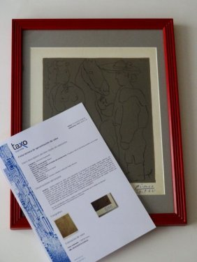 Pablo Picasso, Hand Signed And Dated, Cercle D´art 1962