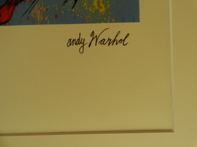 ANDY WARHOL, SUPERMAN, PLATE SIGNED AND HAND NUMBERED - 3