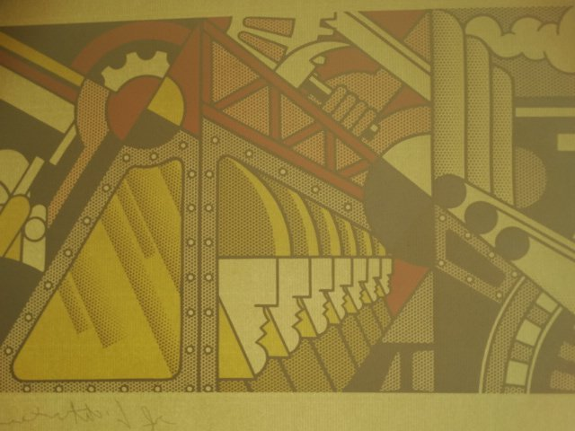 ROY LICHTENSTEIN, LITHOGRAPH, PLATE SIGNED - 3