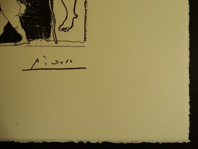 PABLO PICASSO, SPADEM, SIGNED AND HAND NUMBERED - 3