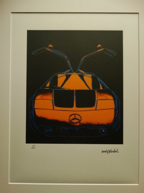 ANDY WARHOL, PLATE SIGNED AND HAND NUMBERED - 2
