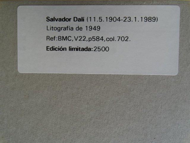 SALVADOR DALI, 1949 - 4