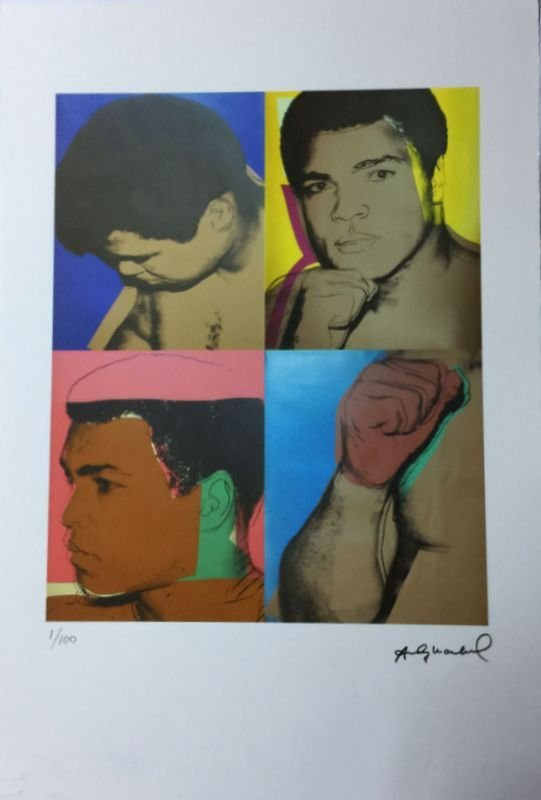 Andy Warhol Lithograph 57 x 38 Arches France Dry stamp