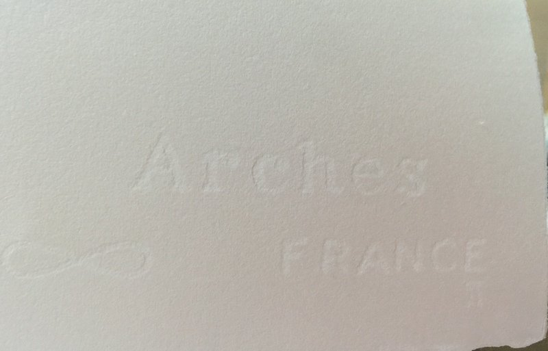Andy Warhol Lithograph 57 x 38 Arches France Dry stamp - 4