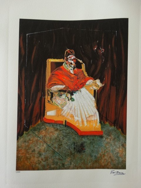 FRANCIS BACON PLATE SIGNED AND HAND NUMBERED - 3