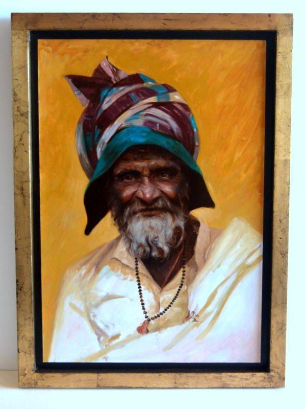 Lluís Ribas. Oil on cavas