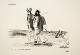 Jean Louis Forain, (1852-1931), French. Lithograph,