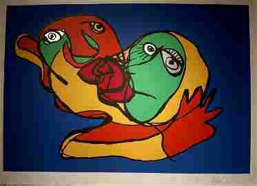 Karel Appel, (1921-2006, Dutch)