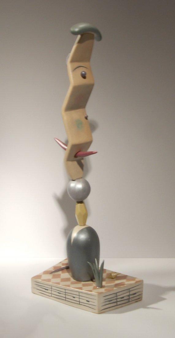 Tom Rippon (1954-2010), American. Porcelain sculpture.
