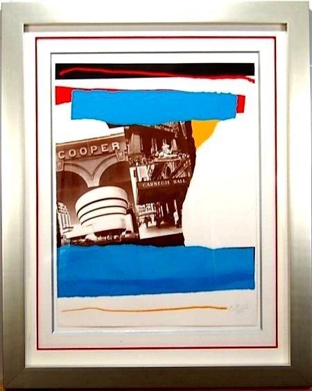 Robert Motherwell (1915-1991 American)