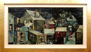 Gregory Kondos, b. 1923, American)