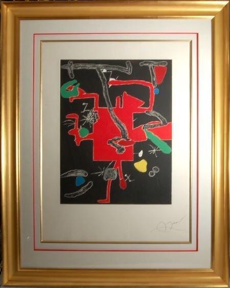 Joan Miro, (1893-1983, Spanish)