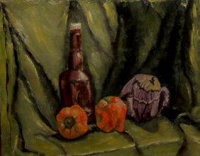 Helen Director (1919-2006), American. Oil On Canvas.