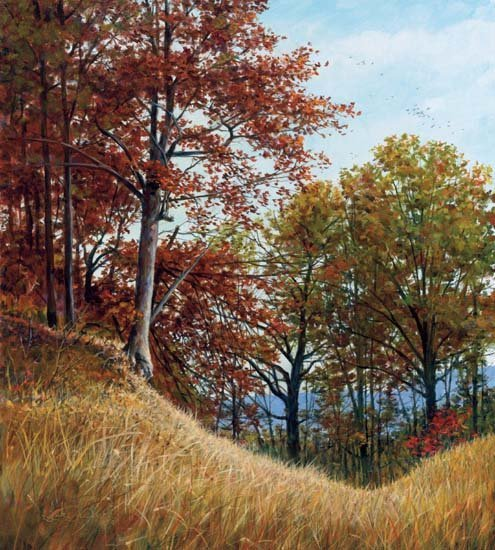 THE FORGOTTEN TRAIL Giclee Canvas Signed and