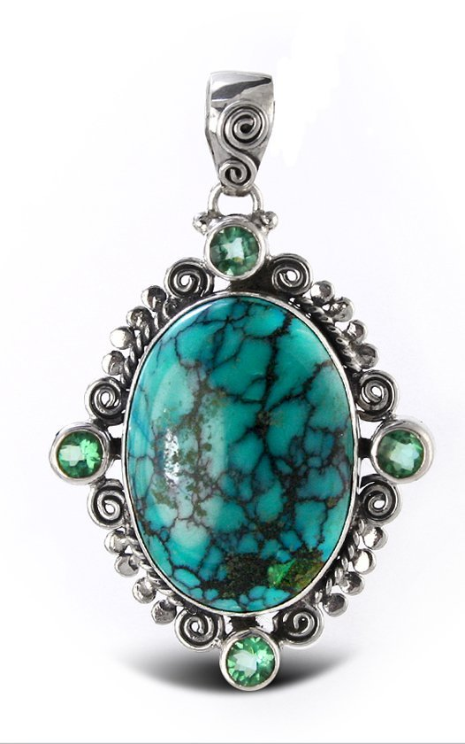 Trapped Turquoise