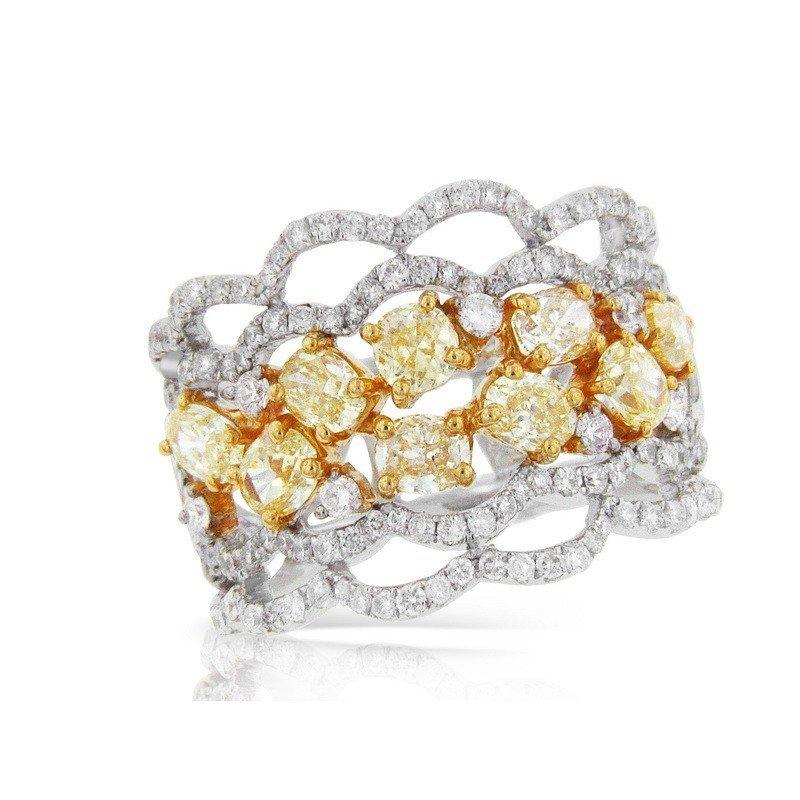 RING...GOLD 8.3 GRAM DIAMOND GOLD G 0.98CT DIAMOND SI1