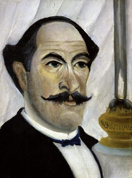 PORTRAIT OF THE ARTIST…HENRI ROUSSEAU