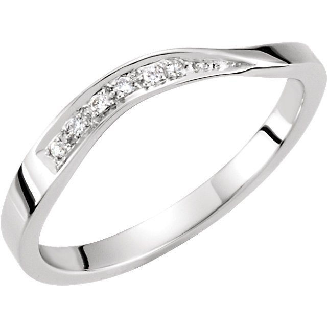 .03 CTW STACKABLE DIAMOND RING