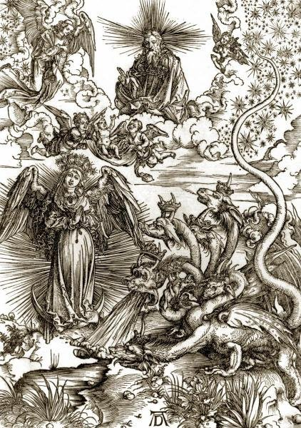 THE APOCALYPTIC WOMAN…ALBRECHT DURER