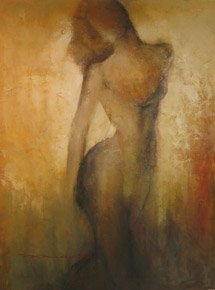 ORIGINAL OIL PAINTING-A. MICHER …PORTRAITS / FEMALE