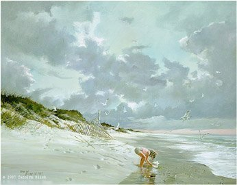 CAROLYN BLISH…THE CONCH SHELL PAPER SIGNED AND NUMBERED