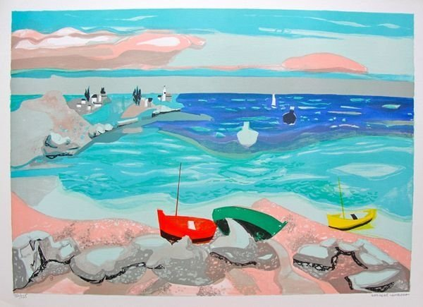 Georges Lambert Seaside Limited Edition Hand Signed