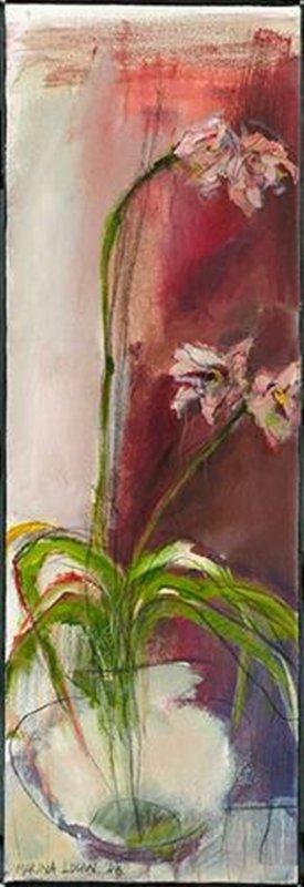 Original Painting By Marina Louw-Floral Still Life VI