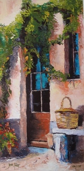 James Pratt Tuscan Doorway Hand Signed Limited Edition